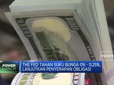 The Fed Tahan Suku Bunga Rendah
