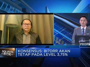 Ekonom UOB Indonesia Poyeksi BI Tahan BI7DRR di 3,75%