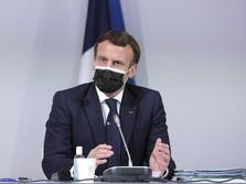 Positif Terjangkit Covid-19, Macron Isolasi Mandiri 7 Hari