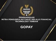 Dorong Zakat Digital, GoPay Kembali Raih Penghargaan BAZNAS