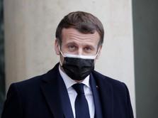 Presiden Macron Positif Covid-19, Ini Kondisi Terbarunya