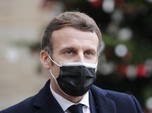 Presiden Prancis Desak Cabut Pembatasan Ekspor Vaksin Covid
