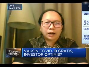 Vaksin Covid-19 Gratis, Optimisme Pemulihan Ekonomi Meningkat