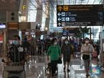 Hari Pertama Larangan Mudik, Penerbangan di Soetta Drop 90%
