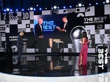 Selamat! Robert Lewandowski Jadi Pemain Terbaik Dunia FIFA