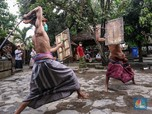 'Gladiator' Suku Sasak Lombok, Coba Bertahan Kala Pandemi