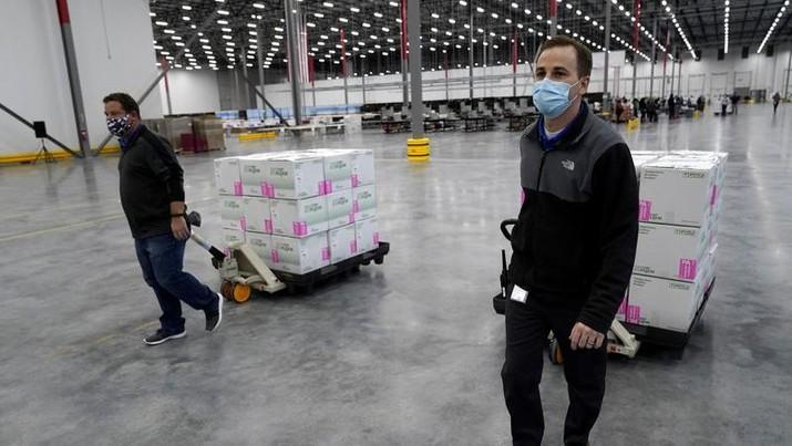 Vaksin Moderna, AP Photo