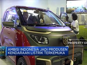 Ambisi Indonesia Jadi Produsen Kendaraan Listrik