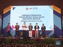 Dukung Vokasi, Kemendikbud Berikan Apresiasi ke 42 Perusahaan
