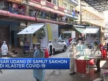 Klaster Pasar Udang, Thailand Akan Swab Test 40 Ribu Orang