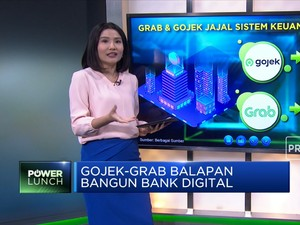 Gojek-Grab Balapan Bangun Bank Digital