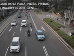 Pengumuman! ke Luar Kota Via Mobil Pribadi Tak Wajib Antigen