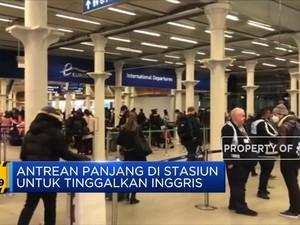 London Diperketat, Turis Inggris Diblokir Eropa