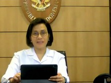 Sri Mulyani Lapor Kinerja APBN 'Pandemi' 2020 ke DPR