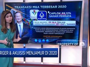 Merger & Akuisisi Menjamur di 2020