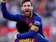 Messi Samai Rekor Golnya, Pele Ucapkan Selamat!
