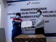 Pertamina EP Lirik Field Gunakan Listrik Premium Platinum PLN