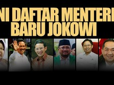 Dilantik Hari ini, Berikut 6 Menteri Baru Kabinet Jokowi