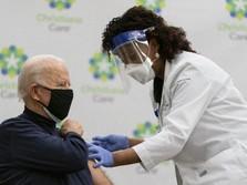 Biden Bagi-bagi Vaksin Covid Gratis! RI Bakalan Kebagian
