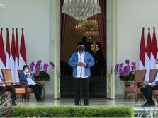 Pagi Ini, Jokowi Lantik 6 Wajah Baru Kabinet Indonesia Maju