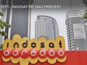 Sstt...Indosat-Tri Indonesia Mau Merger?