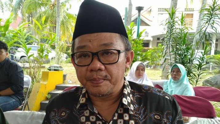 Abdul Mu'ti (Sachril Agustin Berutu/detikcom)