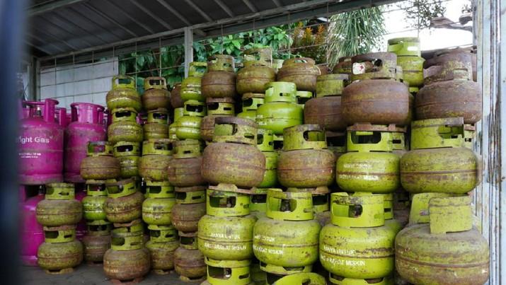 Distribusi LPG 3 Kg . (Dok. Pertamina)