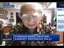 Emil Salim: Jadi Menteri Buka Jalan Sandiaga Uno ke 2024