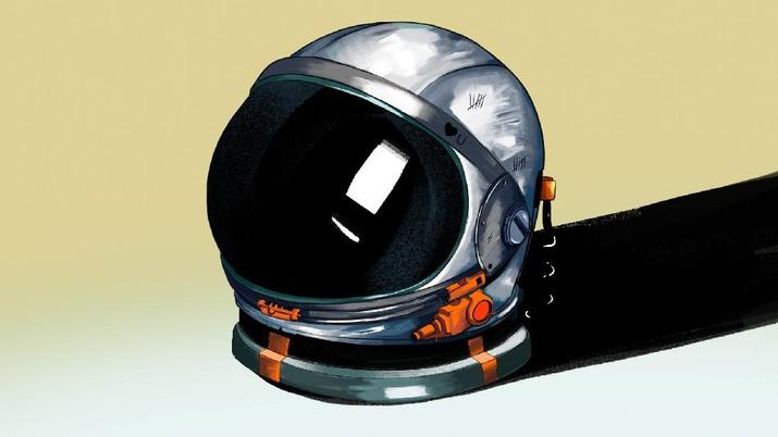 INFOGRAFIS, Berapa Gaji Seorang Astronot
