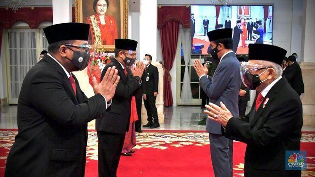 OMRE Deretan Menteri-Wamen Jokowi yang Masih 'Mendua' di Emiten - Halaman 3