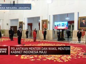 Presiden Jokowi Lantik 6 Menteri & 5 Wakil Menteri Baru