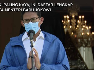 Sandi Uno Paling Sultan, Ini Daftar Harta Menteri Baru Jokowi