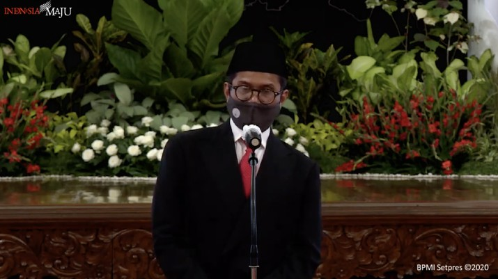 Wakil Menteri Badan Usaha Milik Negara (BUMN), Pahala Nugraha Mansyury (Tangkapan Layar Youtube Sekretariat Presiden)