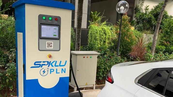 Spklu tersedia, Pln uji coba mobil listrik jakarta-bali (Dok.PLN)
