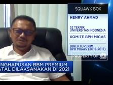 BPH Migas: Belum Ada Regulasi Penghapusan Premium di 2021