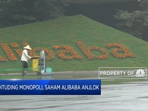 Dituding Monopoli, Saham Alibaba Anjlok