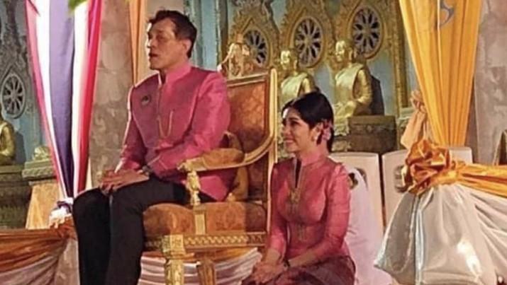 Selir raja Thailand. (Dok IG: royalworldthailand)
