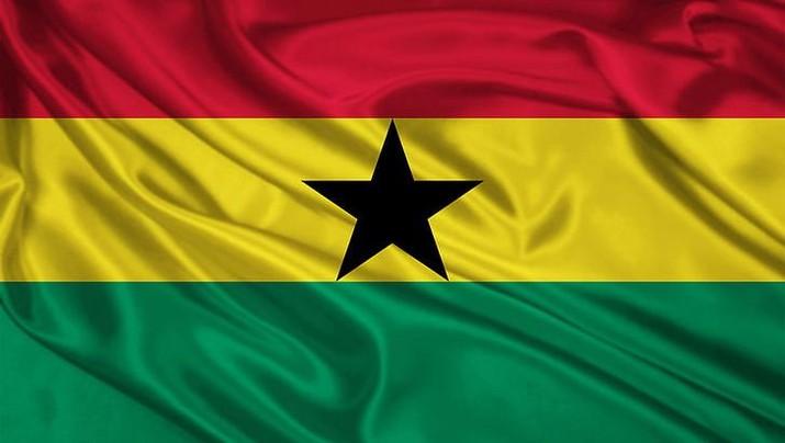 Ilustrasi bendera Ghana, (Dok: Wallpaper HD)