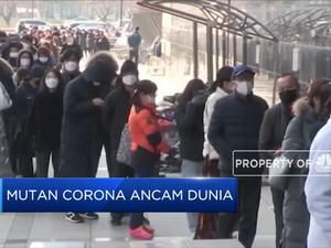 Mutan Corona Ancam Dunia