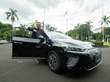 Pertama! Mobil Listrik Hyundai Jadi Kendaraan Dinas Kang Emil