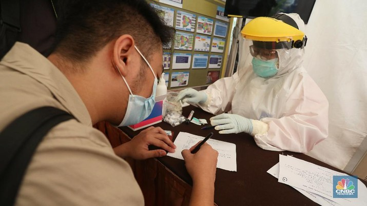 Rapid Test Antigen (CNBC Indonesia/ Andrean Kristianto)