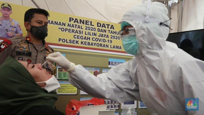 Rapid Test Antigen (CNBC Indonesia/ Andrean Kristianto)