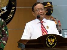 Pemerintah Resmi Larang Aktivitas FPI
