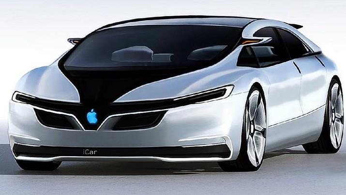 Apple Car siap meluncur tahun 2024. (Dok: Autoevolution)