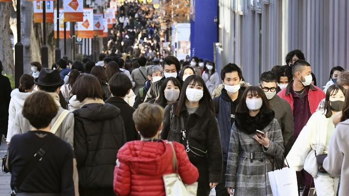 Ilustrasi kota Tokyo, Japan. (AP/Hiro Komae)