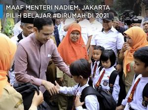 Maaf Menteri Nadiem, Jakarta Pilih Belajar #dirumah di 2021
