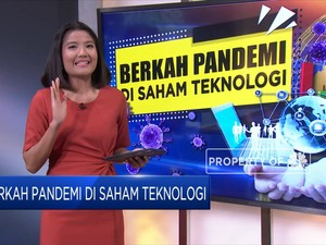 Berkah Pandemi di Saham Teknologi