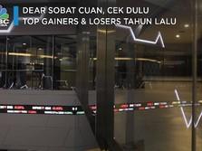 Dear Sobat Cuan, Cek Dulu Top Gainers & Losers Sepanjang 2020