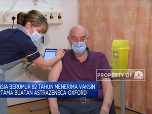 Inilah Pasien Pertama Penerima Vaksin Astrazeneca-Oxford