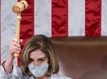 Angkat Palu, Wanita Ini Kembali Jadi 'Ratu' DPR AS